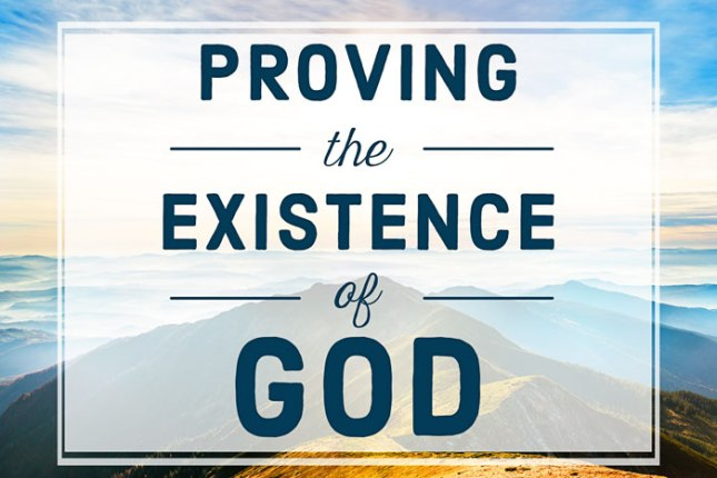 proving-the-existence-of-god